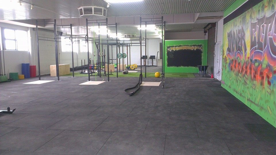 Sparkling new gym